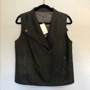 Vince Camuto 100% Leather Vest